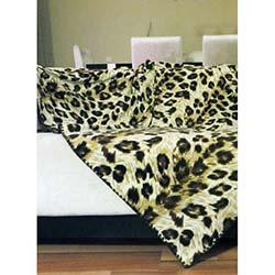 Alla Turca Leopard Battaniye / Koltuk Şalı