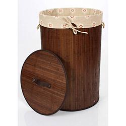 Alla Turca Laundry Orange Bambu Çamaşır Sepeti