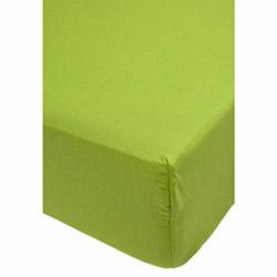 Alla Turca AT9411 Penye Lastikli Tek Kişilik Çarşaf - Fıstık Yeşili