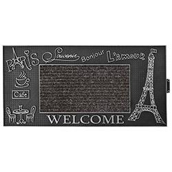 B'Home Kapı Önü Paspas Paris - Gümüş