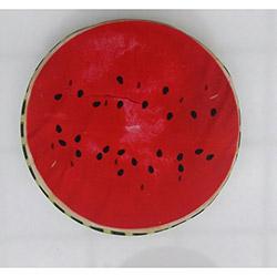 B'Home Karpuz Baskılı Daire Bahçe Minderi - 40 cm