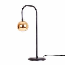 Bun Design Masa Lambası - Siyah / Altın