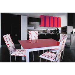 Defne Yemek Masası Takımı - Kırmızı