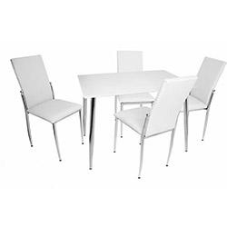 Bey Manolya Gözde Mutfak Masa Takımı - Beyaz