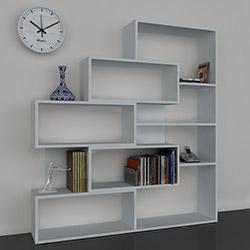Dekorister Marla Kitaplık - Beyaz
