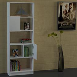 Dekorister Amitola Kitaplık - Beyaz