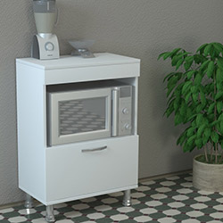 Dekorister Merkür Mutfak Dolabı - Beyaz