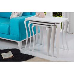 Comfy Home Dilek Zigon Sehpa - Beyaz