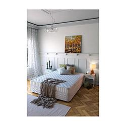 Selena Leylak Yaylı Yatak - 90x190 cm
