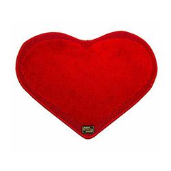 Era Kalp Banyo Halısı (Kırmızı) - 48x66 cm