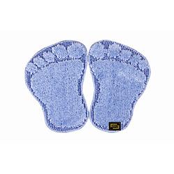 Era Panda Ayağı Banyo Halısı (Mavi) - 48x66 cm