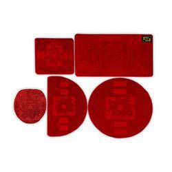 Era Platinum Fera 005 5'li Klozet Takımı - Kırmızı