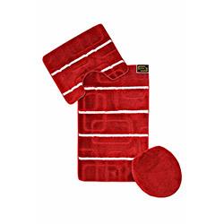 Era Multi 015 3'lü Klozet Takımı - Kırmızı