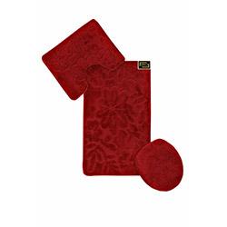 Era Fera 002 3'lü Klozet Takımı - Kırmızı