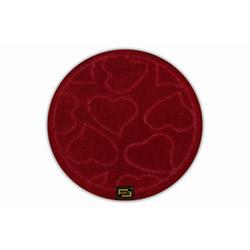 Era Punto Banyo Halısı (Kırmızı) - 66x66 cm