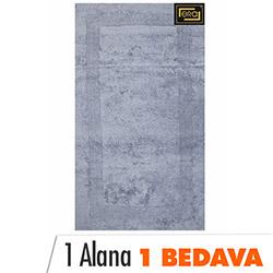 Era Club Banyo Halısı (Gri) - 70x120 cm (1 Alana 1 Bedava)