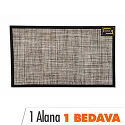 Era Lounge 551 Hasır Halı (Bej) - 45x75 cm (1 Alana 1 Bedava)