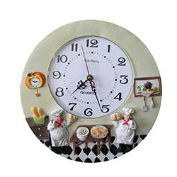 Mutfak Saati 8 - 30x30 cm