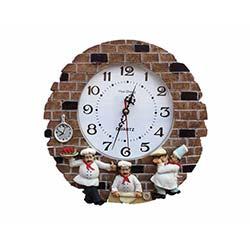 Aşçılı Duvar Saati 4