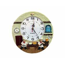 Aşçılı Duvar Saati 3
