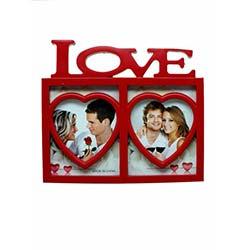 Love Aile Çerçevesi - Kırmızı