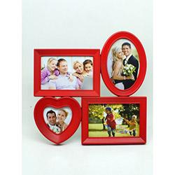 İmaj Çoklu Aile Çerçevesi - Kırmızı
