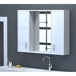 Moena Aynalı Dolap (80 cm) - Beyaz