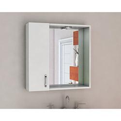 Moena Aynalı Dolap (65 cm) - Beyaz