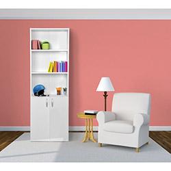 Comfy Home 3 Raflı Kitaplık - Beyaz