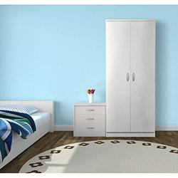 Comfy Home 2 Kapaklı Gardırop - Beyaz