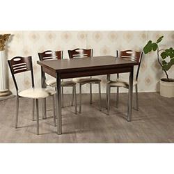 Kristal TK-27 Yemek Masası Takımı (4 Sandalyeli) - Latin