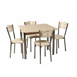 Kristal TK-36 Yemek Masası Takımı (4 Sandalyeli) - Akça