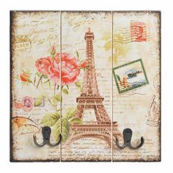 Comfy Home Paris Eiffel Ahşap Askılık