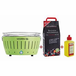 Lotus Grill Izgara XL - Limon Yeşili ( Barbekü Tutuşturucu Jel ve Kömür Hediyeli)