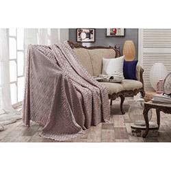 Eponj Home Elips Kaymaz Koltuk Örtüsü (Gülkurusu) - 175x210 cm