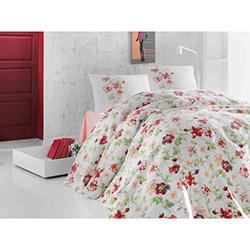 Eponj Home Sofia Tek Kişilik Pike - Kırmızı