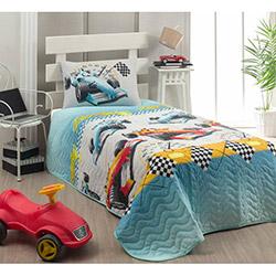 Eponj Home Ralli Tek Kişilik Yatak Örtüsü Takımı - Mint