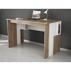 Ezkiz Çalışma Masası - Ceviz / Beyaz