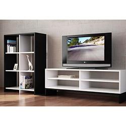 Leader Tv Sehpası - Beyaz / Siyah