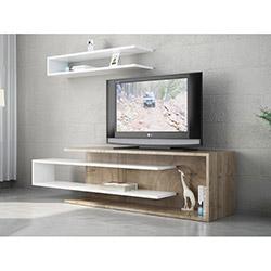 Tenon Tv Ünitesi - Ceviz / Beyaz
