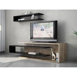 Tenon Tv Ünitesi - Ceviz / Siyah
