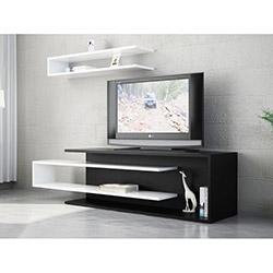 Tenon Tv Ünitesi - Siyah / Beyaz