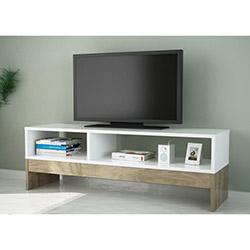 Carcis Tv Sehpası - Beyaz / Ceviz