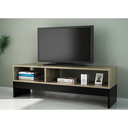 Carcis Tv Sehpası - Ceviz / Siyah