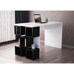 Dart Çalışma Masası - Beyaz / Siyah
