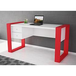 Lord Çalışma Masası - Beyaz / Kırmızı