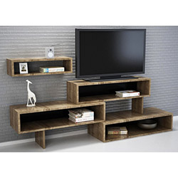 Zenon Tv Sehpası - Ceviz / Siyah