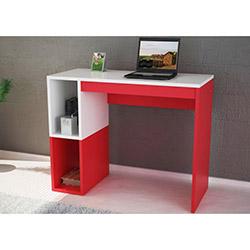 Optimus Çalışma Masası - Beyaz / Kırmızı