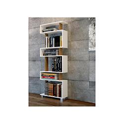 Evdekimoda Blok Kitaplık - Ceviz