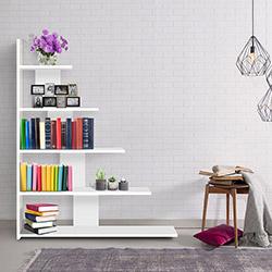 Evdekimoda Reward Kitaplık - Beyaz